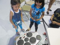 girl drums
